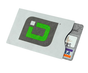 Badge Products Credit Card Sleeve 1157