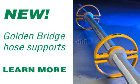 Industrial Equipment Supply Golden Bridge Hose Supports Announcement